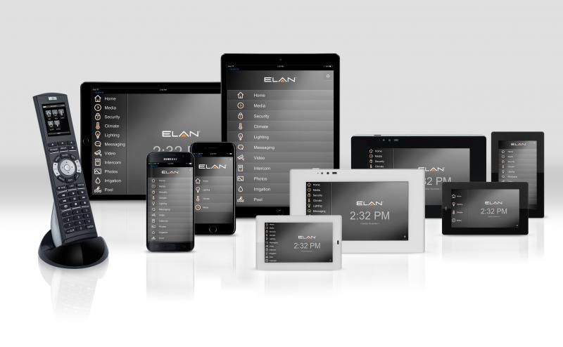 Elan smart home product suite