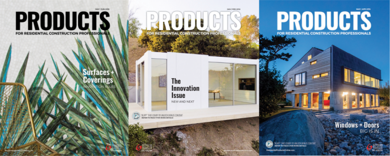 PRODUCTS magazine about and contact