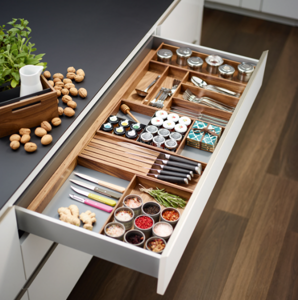 Canadian Kitchen Cabinet Manufacturers: Richelieu Releases Straightline Modular Wood Divider