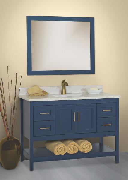 Strasser Woodenworks Lapis vanity