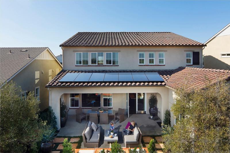 SunPower solar panel roof