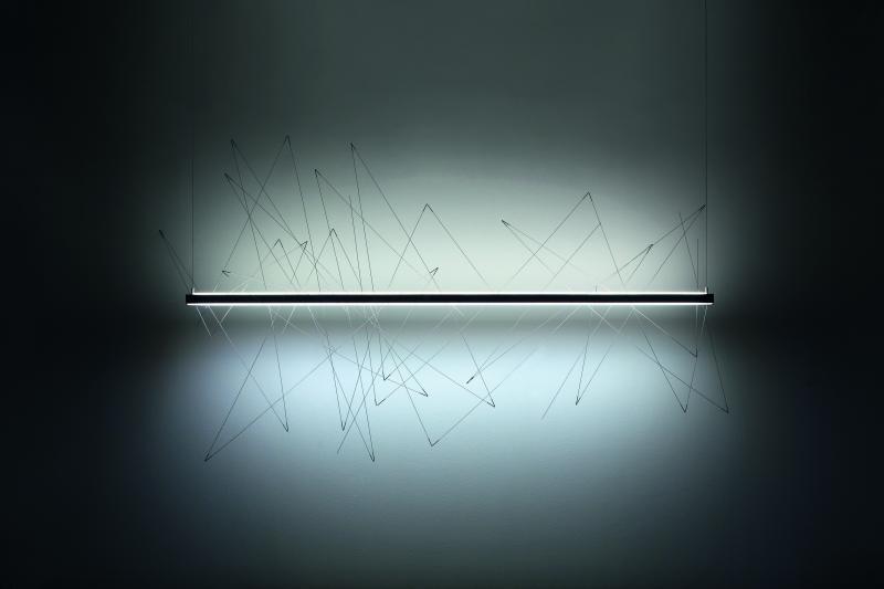 Pallucco Graffiti stainless steel light