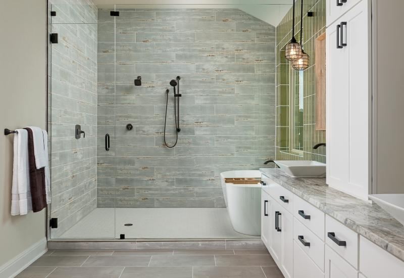 Ashton Woods master bath