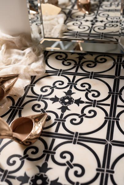 Josephine tile Mosaique Surface, French Quarter Collection