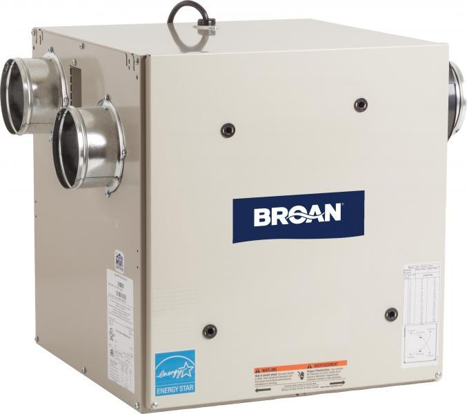 Broan HRV70SE heat recovery ventilator