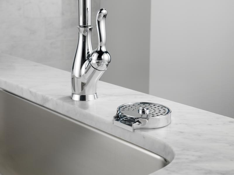 Delta Faucet glass rinser from First Wave Innovation Labs