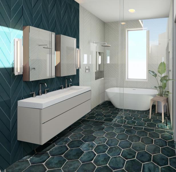 Duravit Design competition bathroom OAD Interiors