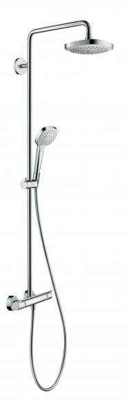 Hansgrohe Croma shower columng