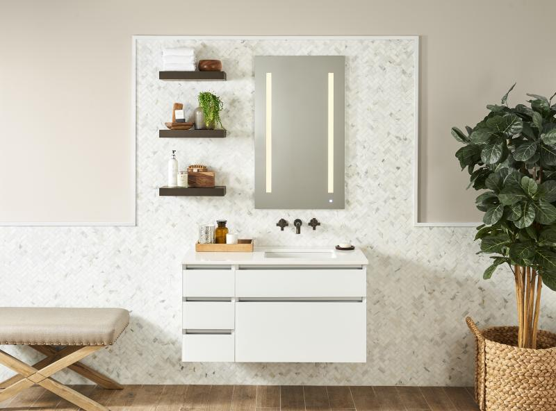 Robern AiO lighted bathroom vanity