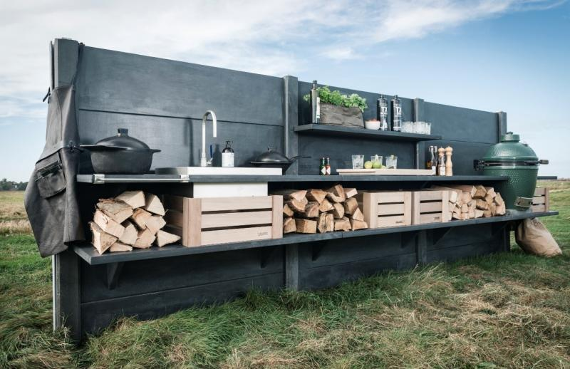 WWOO concrete outdoor kitchen