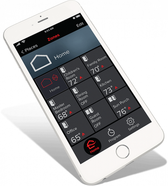 Mitsubishi HVAC Kumo Cloud app