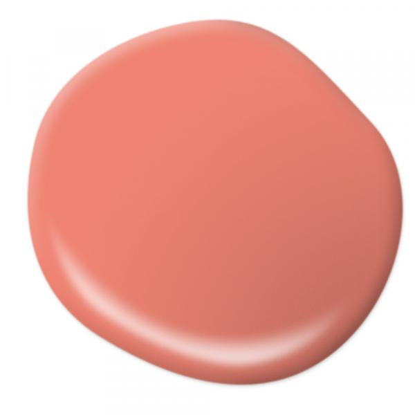 Behr Salmon Coral chalk paint