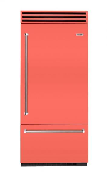 BlueStar refrigerator living coral