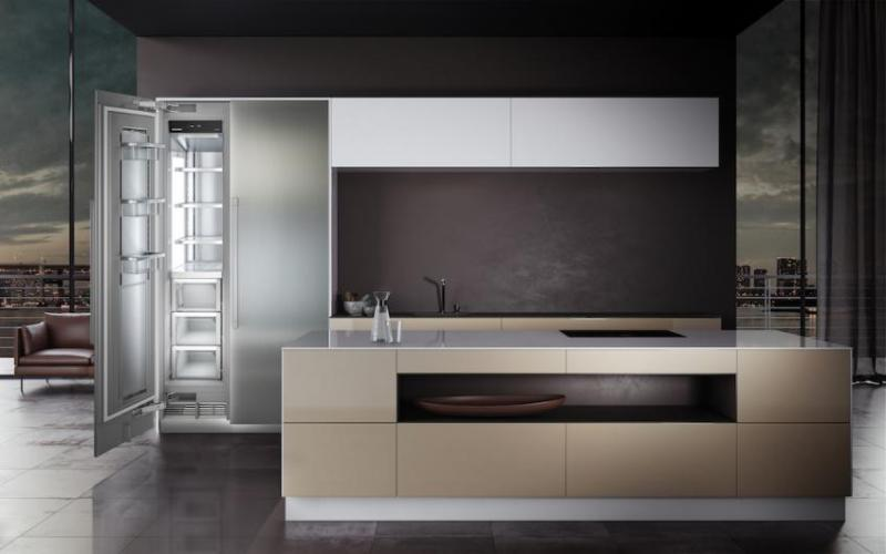Liebherr Monolith refrigerator at KBIS