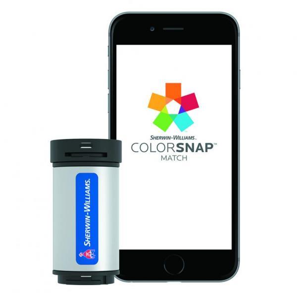 Sherwin-Williams ColorSnap tool