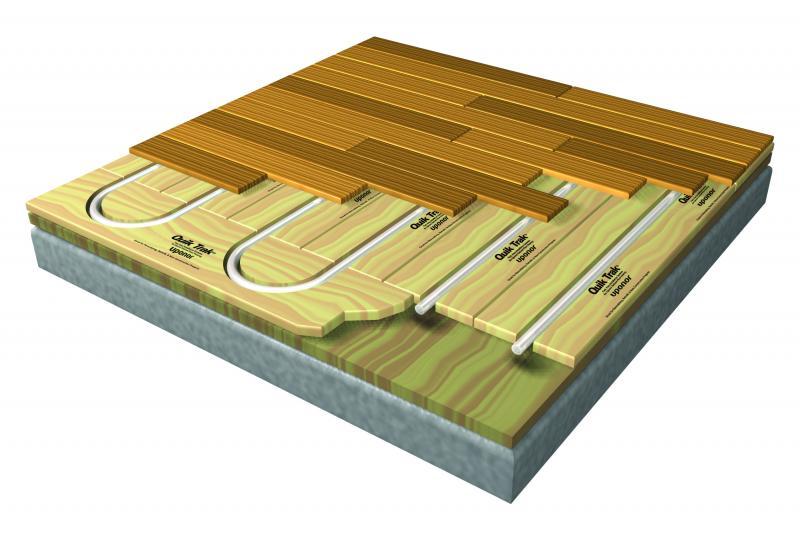 Uponor radiant flooring