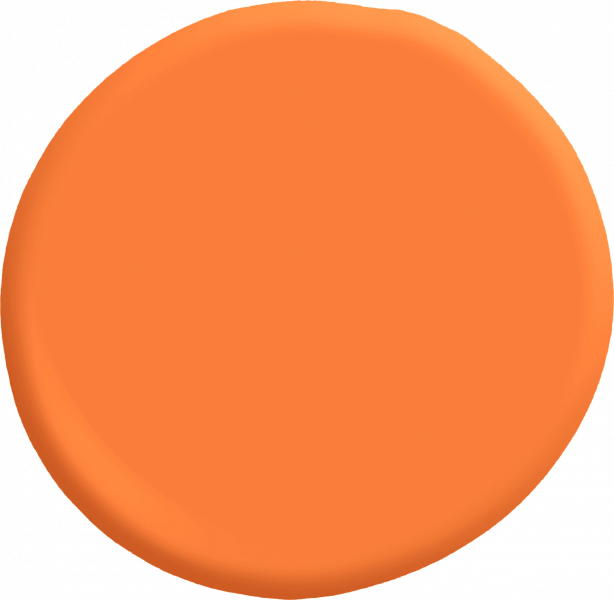 Valspar Orange Slice paint