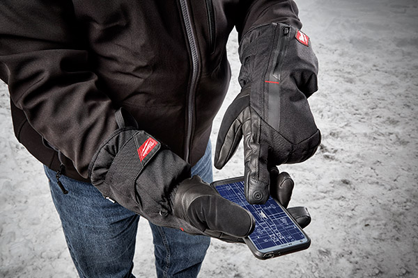 Milwaukee Tool USB rechargeable heated gloves