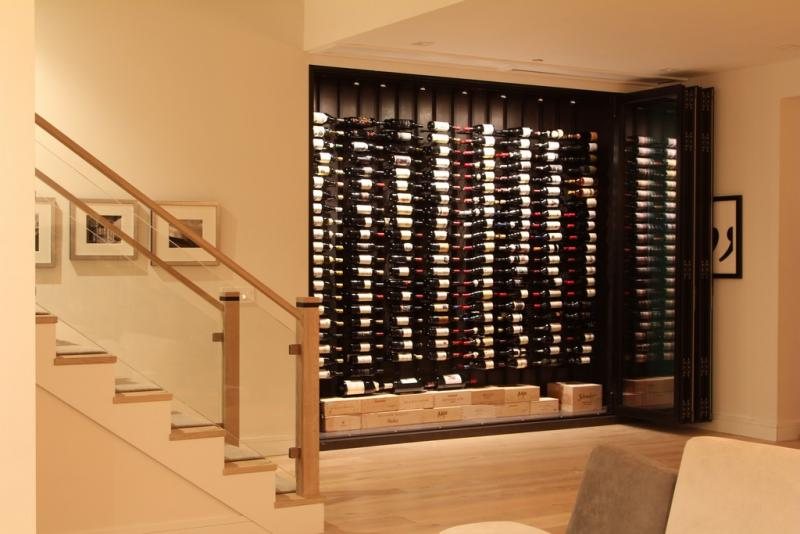 most unique wine cellar project nanawall