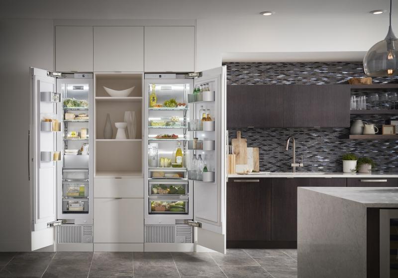 GE Monogram refrigeration columns