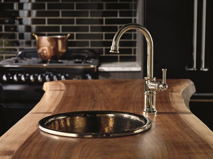 Brizo Artesso touch control kitchen faucet