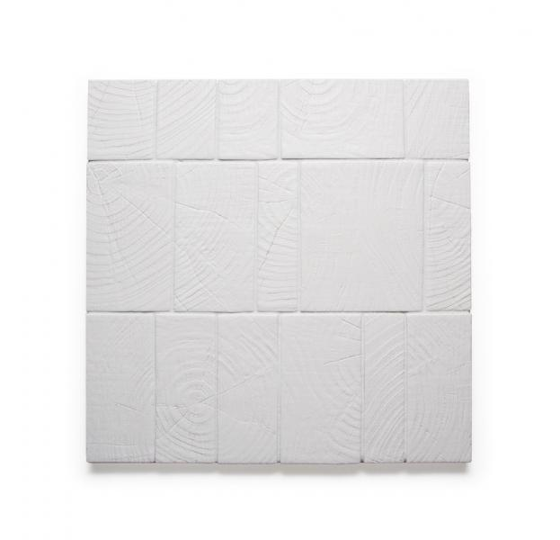 Ann Sacks Anello porcelain tile in white