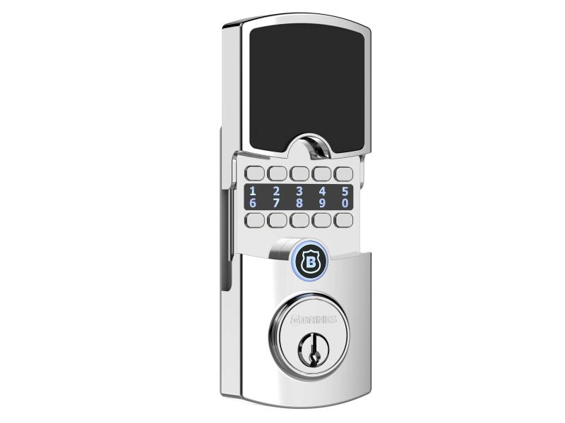 Brinks Home Security front door lock