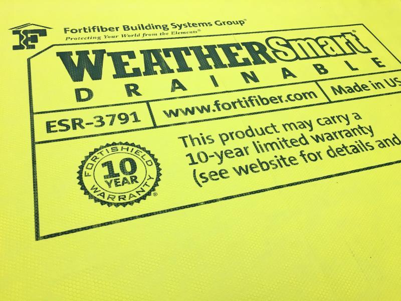 Fortifiber WeatherSmart Drainable