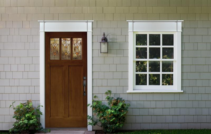 Fypon Craftman Cove exterior trim