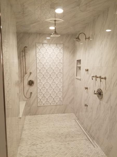Brizo shower in Healthy Home 2018