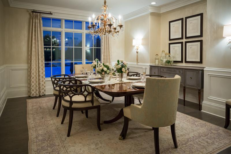 Healthy Home 2018 dining room