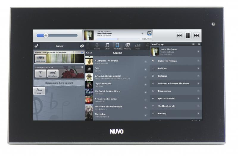 Legrand Nuvo P30 home audio control