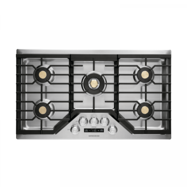 GE Monogram gas cooktop