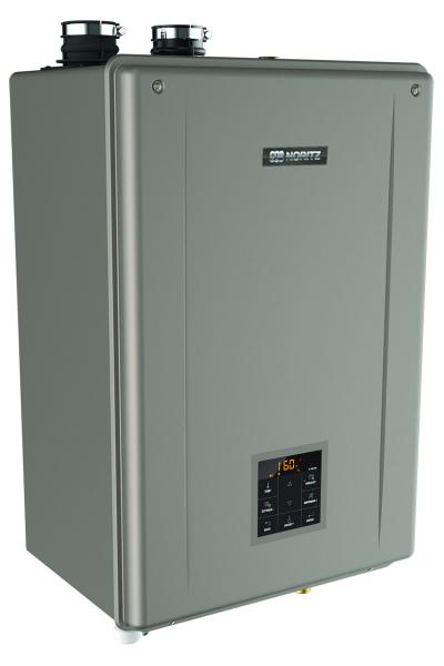 Noritz combination space heater and water boiler
