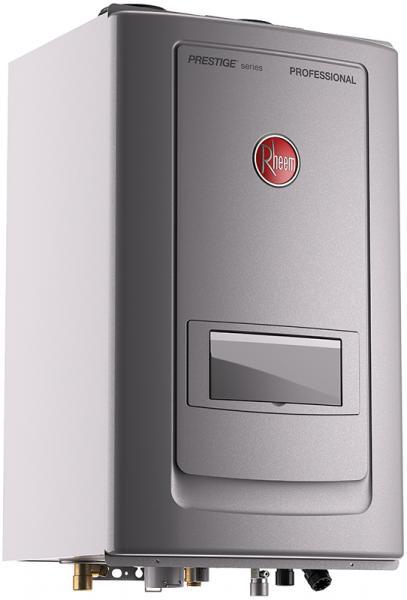 Rheem High Efficiency Tankless Water Heater with Built-In Recirculation