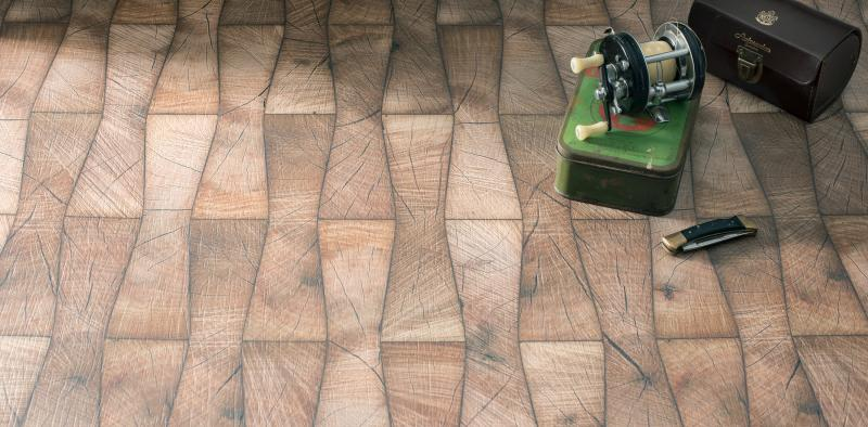 WilsonArt Blocked Bowtie wood laminate